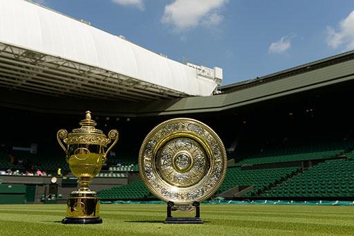 Wimbledon - trophées
