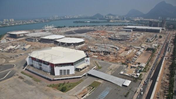 Le Musée Olympique sera visible depuis le Parc Olympique de Barra (Crédits - Cidade Olimpica / mai 2015)