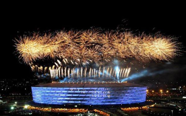 Cérémonie d'ouverture des Jeux Européens 2015 (Crédits - Bakou 2015)
