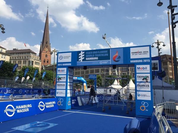(Crédits - ITU World Triathlon Hamburg)
