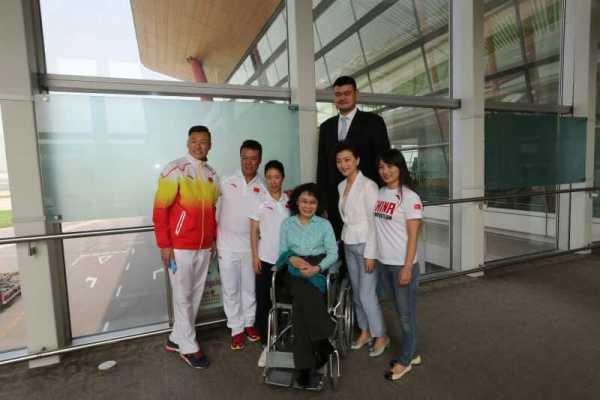 La délégation d'athlètes comprend notamment le célèbre basketteur chinois, Yao Ming (Crédits - Pékin 2022)