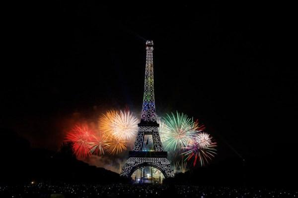 Feu d'artifice du 14 juillet (Crédits - Mairie de Paris)