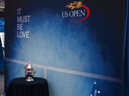 Trophée de l'US Open (Crédits - US Open / Nicholas J. Walz)