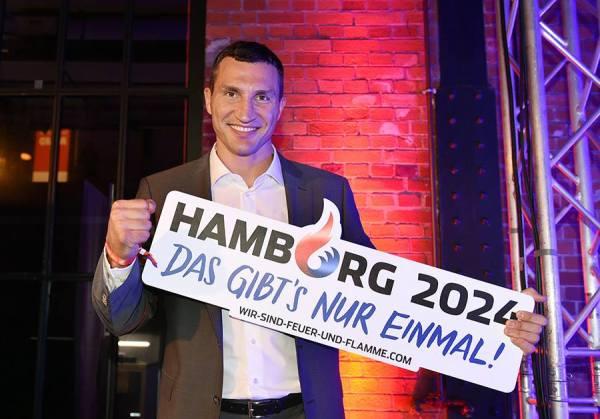 Le boxeur Wladimir Klitschko (Crédits - Hambourg 2024)