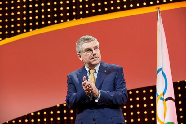 Le Président du CIO, Thomas Bach (Crédits - CIO / Ian Jones)