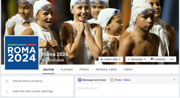 (Crédits - Capture d'écran de la page Facebook de Rome 2024)