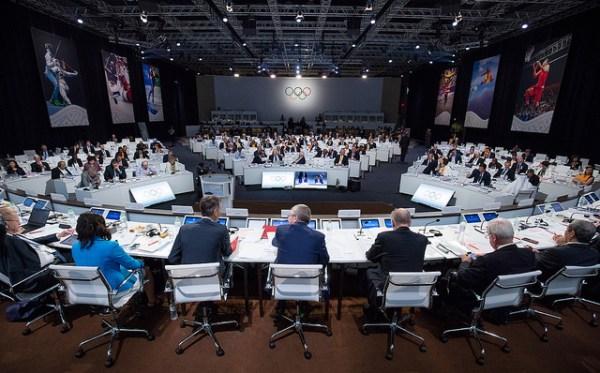 La 128e Session du CIO réunie la semaine dernière à Kuala Lumpur, en Malaisie (Crédits - CIO / Ian Jones)