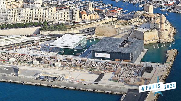 Visuel du projet de Marseille (Crédits - Paris 2024)
