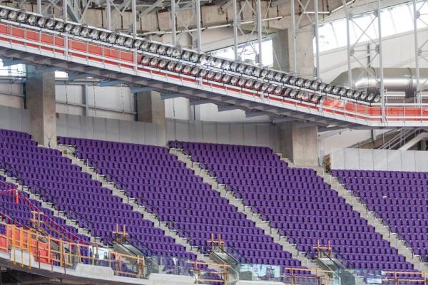 (Crédits - Minnesota Vikings / US Bank Stadium)