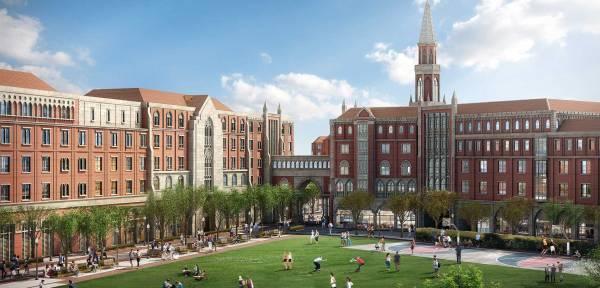 Visuel du campus de l'Université de Californie du Sud (Crédits - LA 2024)
