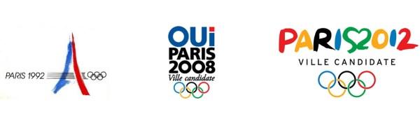 (Crédits - Sport & Société / Paris 1992, Paris 2008, Paris 2012)