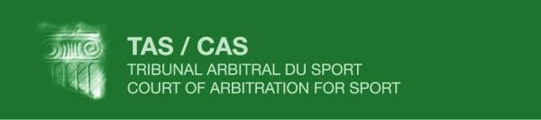 Logo du Tribunal Arbitral du Sport (Crédits - TAS)