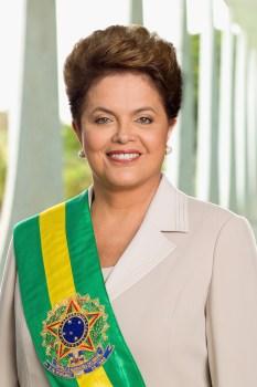 Portrait officiel de la Présidente du Brésil, Dilma Rousseff (Crédits - Roberto Stuckert Filho)