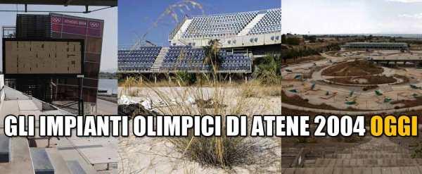Sur son blog, Beppe Grillo a choisi de faire un parallèle avec les sites olympiques abandonnés d'Athènes 2004 pour critiquer le projet de Rome 2024