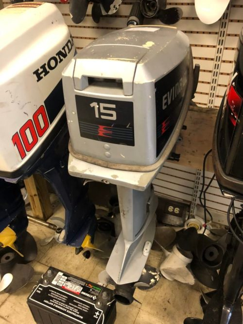 small resolution of 1987 15hp evinrude sold