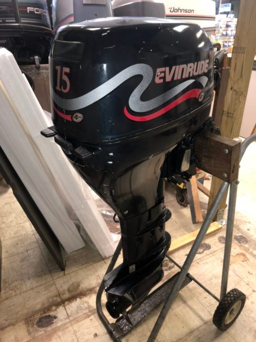 small resolution of 1999 evinrude 15hp 4 stroke sold