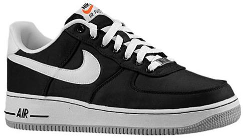 on sale 577c5 e63e7 Nike Air Force 1 Black Nylon   SportFits.com