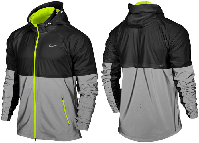sports shoes 76034 a0345 nike-shield-flash-jacket-black-silver