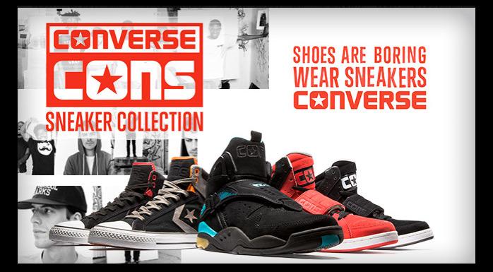 990cc4485c4 Converse CONS Sneaker Collection