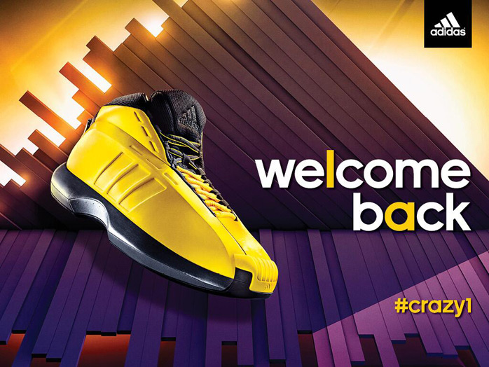 competitive price 56987 d7630 adidas Crazy 1