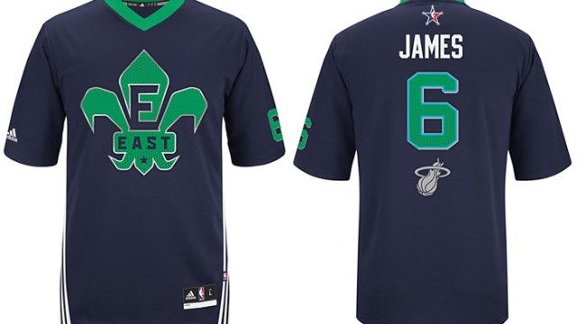 uk availability e2a30 4dc79 adidas LeBron James NBA All-Star Game Jersey | SportFits.com