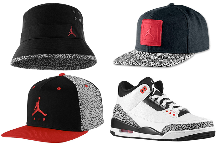 Air Jordan 3 Infrared 23 Hats  d308dff9925
