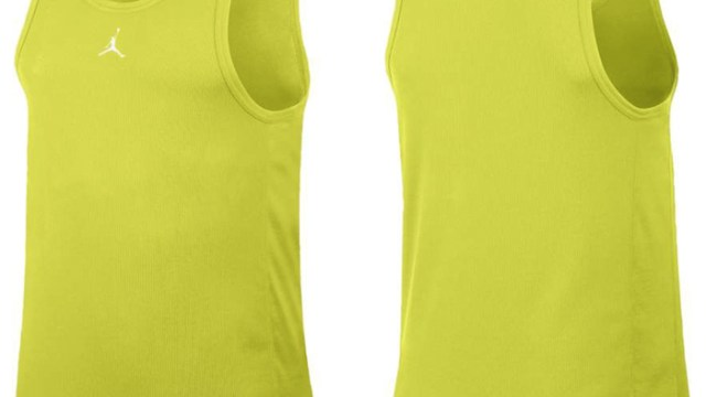 3241a5863e8 Jordan Buzzer Beater Tank Top (Venom Green/White)