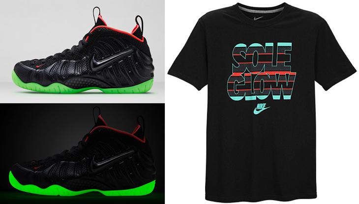 Nike Air Foamposite Pro Yeezy Camisa Único Resplandor Camisa Yeezy 162d0a