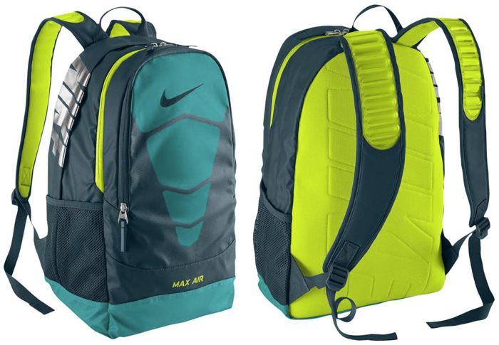 nike max air large vapor superfly backpack
