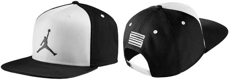 Air Jordan 11 Concord Hat Black White  5a095531a18
