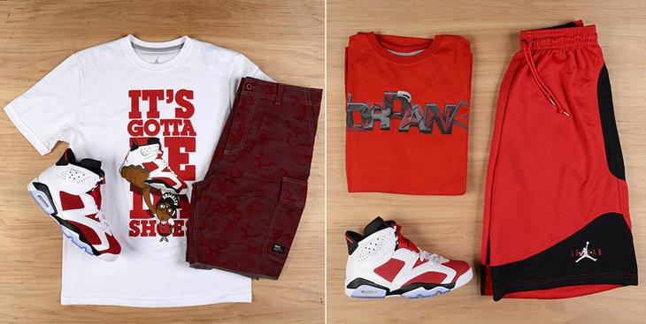 b89b6f92029afd Air Jordan 6 Retro Carmine Sneaker Fits