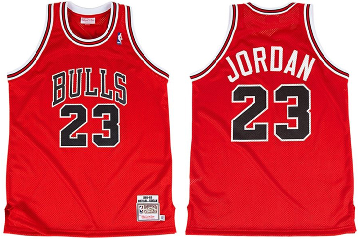 pretty nice edf23 7b83b Mitchell & Ness Michael Jordan Chicago Bulls The Shot 1989 ...