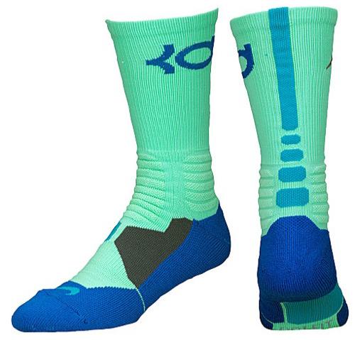 fc319a75cf1c nike-kd-night-vision-brazil-socks-green