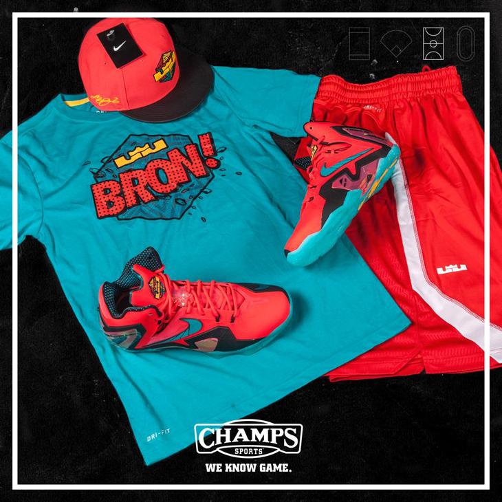 """new arrival 943b2 add0e Nike LeBron 11 Elite """"Hero"""" Fits"""