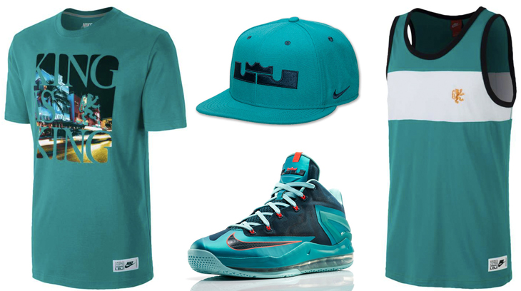 new product 1848a db1c5 nike-lebron-11-low-turbo-green-clothing