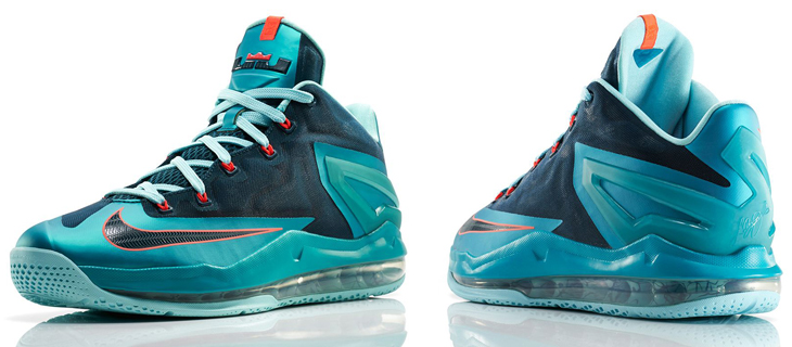 online store bedb6 37989 nike-lebron-11-low-turbo-green