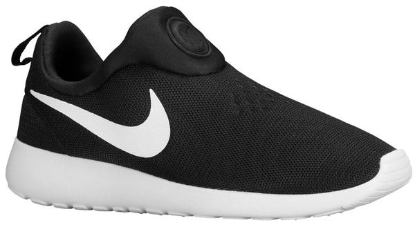 Sip fregar Independientemente  Nike Roshe Run Slip On Black White | SportFits.com