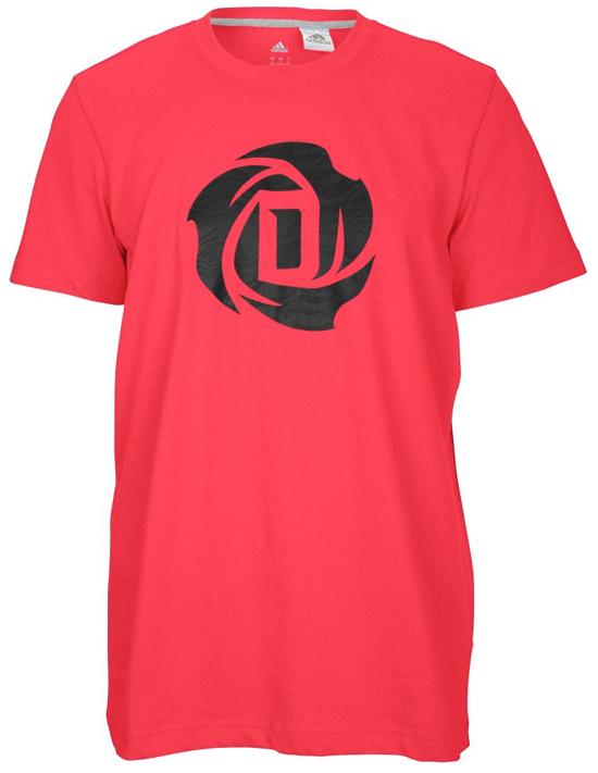 adidas d rose logo t shirt
