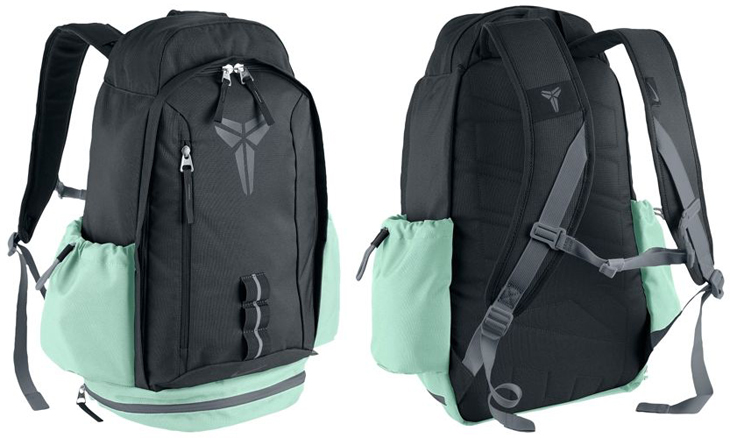 93ef91538105 Nike Kobe Mamba Backpack Anthracite Medium Mint Cool Grey ...