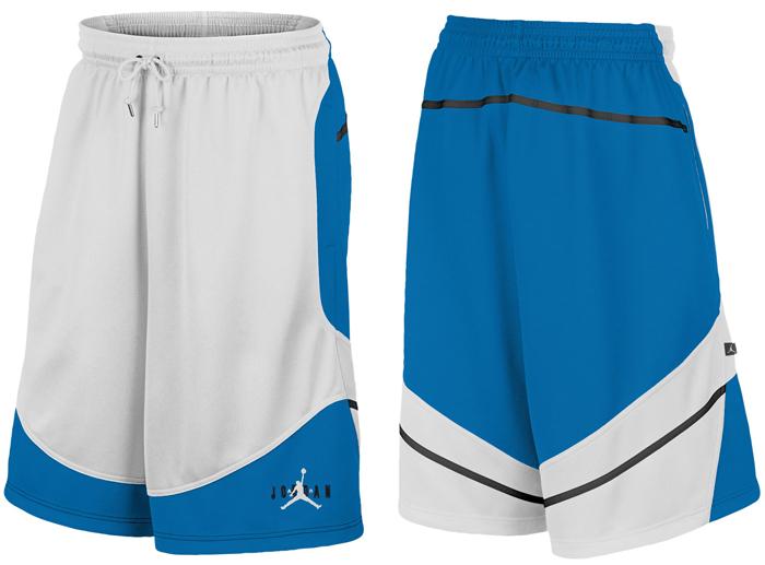 34d26b31f49d Jordan Retro 6 First Trophy Shorts Sport Blue White