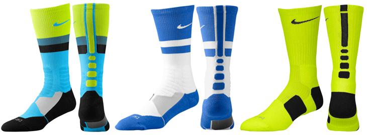 brand new b4658 a905b nike-lebron-11-sprite-nike-socks