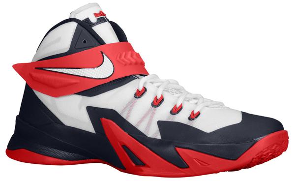 "8378504618d3 Nike LeBron Zoom Soldier VIII ""USA"""