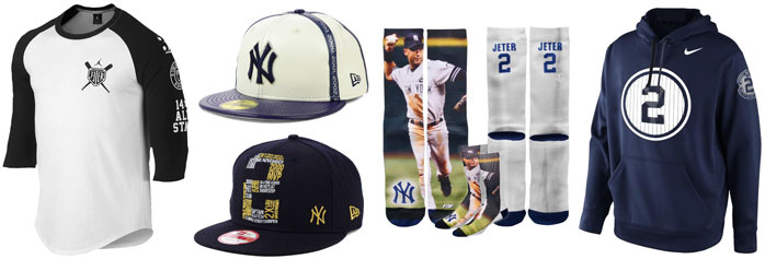 1ad216a0bee7fb Air Jordan 1 Derek Jeter Clothing Shirts Hats Socks