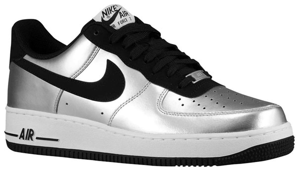 """finest selection 5e05c 8a3b7 Nike Air Force 1 Low """"Metallic Silver"""""""