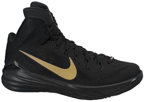 Nike Hyperdunk 2014 Black Metallic Gold