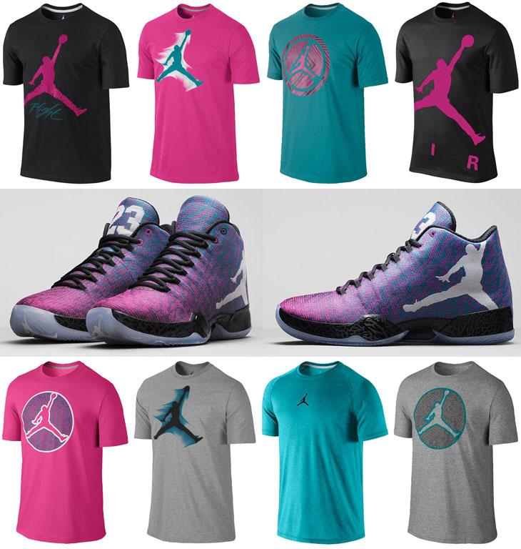 8c0a85af75cc6e Air Jordan XX9 Riverwalk Fusion Pink Shirts