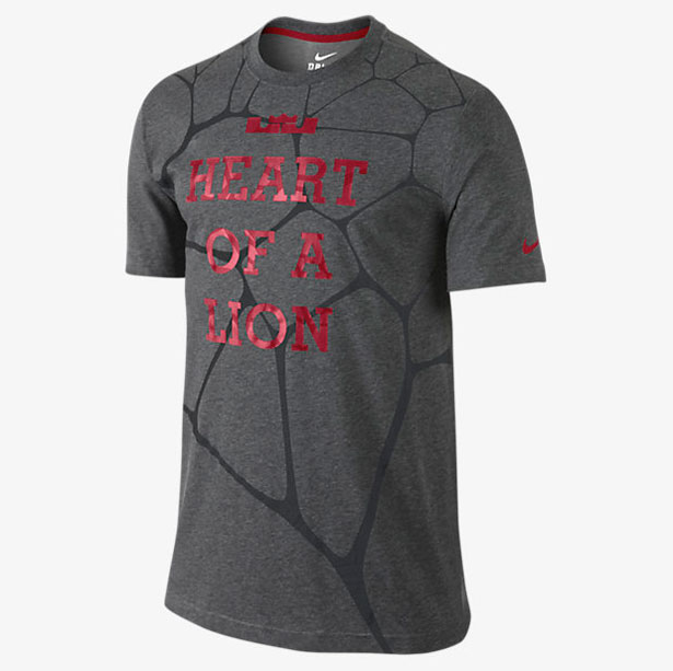 Lebron james shirts lion
