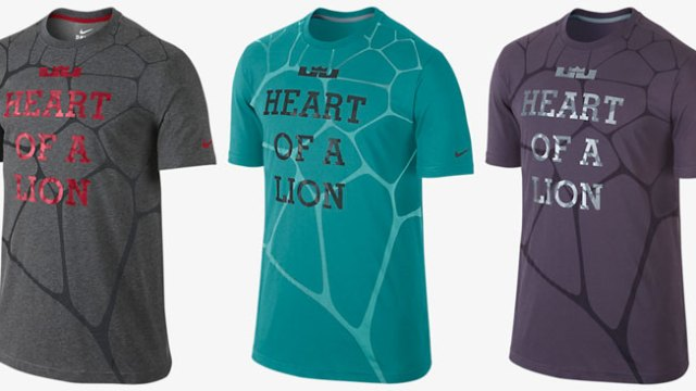 74a0bf9abc3 Nike LeBron Heart of a Lion Shirt