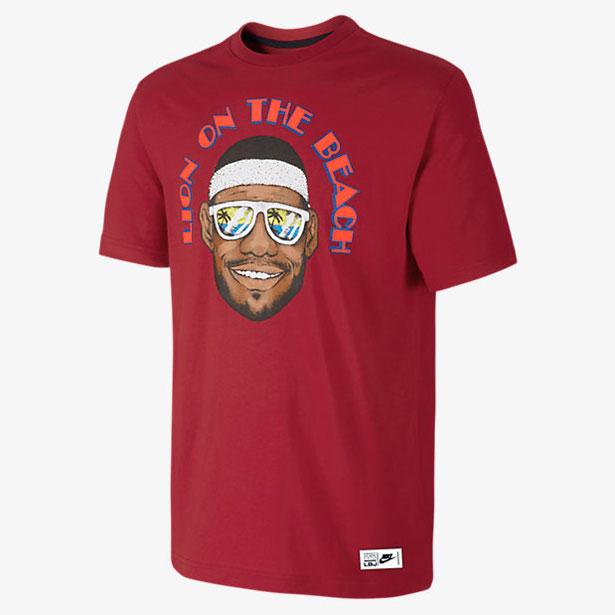 nike lebron shirts to wear with the nike lebron 12 heart