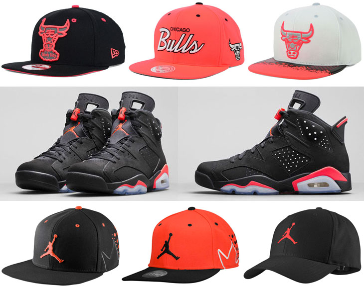 cc22c62c969b 6 Hats to Hook with the Air Jordan 6 Black Infrared 23